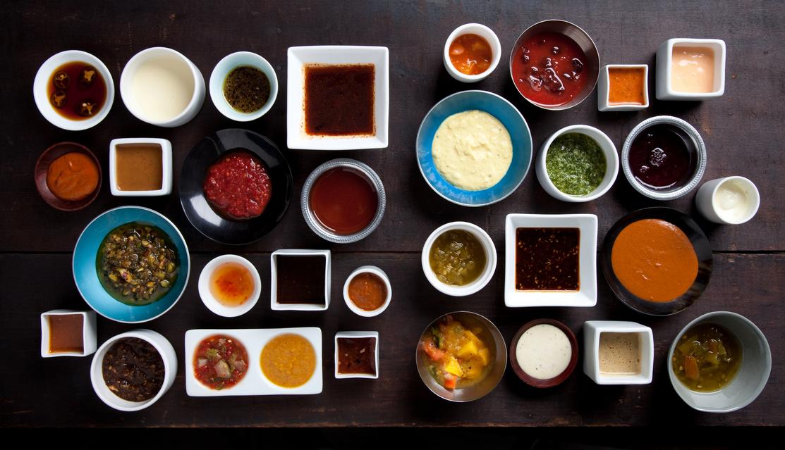Ensemble de sauce pour le barbecue et la placha