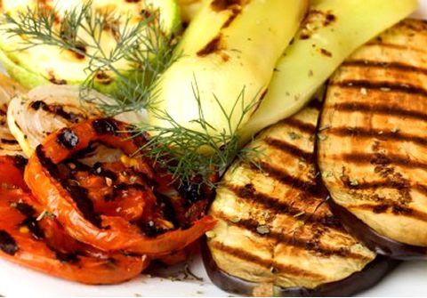 Images de légumes grillés