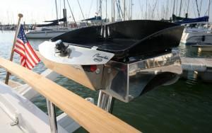 Plancha bateau sur pied